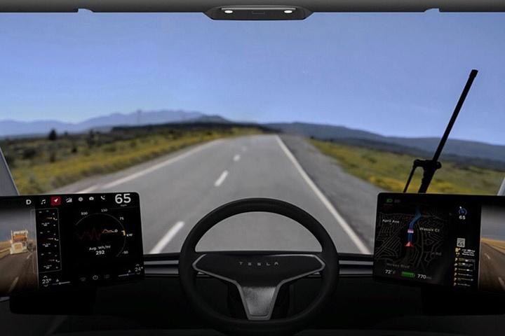Tesla Semi Interiol